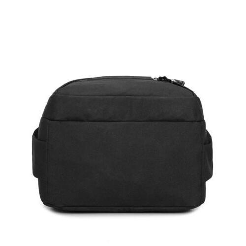"Men USB 17"" Waterproof Travel Bookbag"