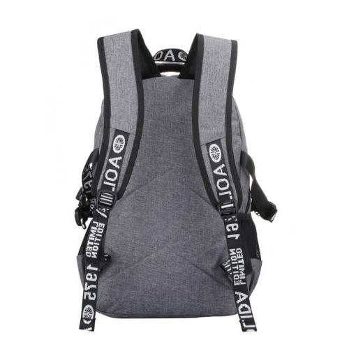 """Men Port Backpack 17"""" Laptop Bags Waterproof Travel"""