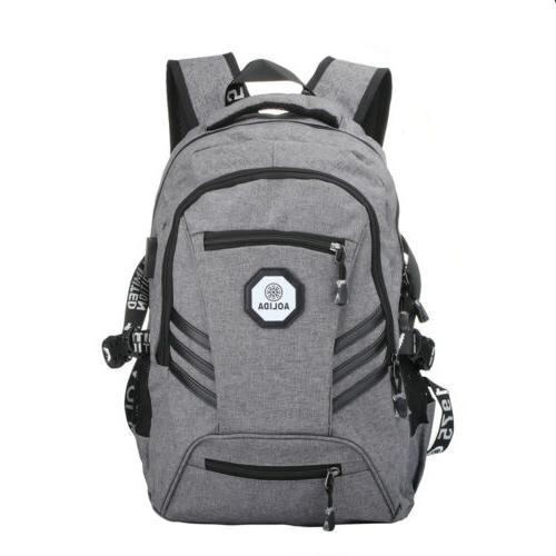 "Men Port Backpack 17"" Laptop Travel"
