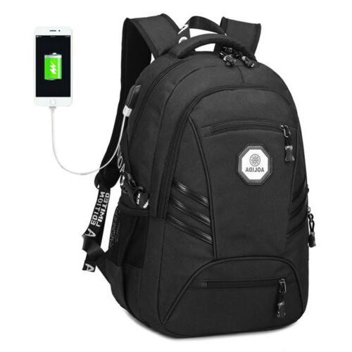 men usb port backpack 17 laptop bags