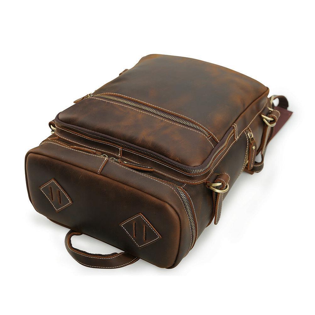 """Men Vintage 15"""" Laptop Bag Daypack"""