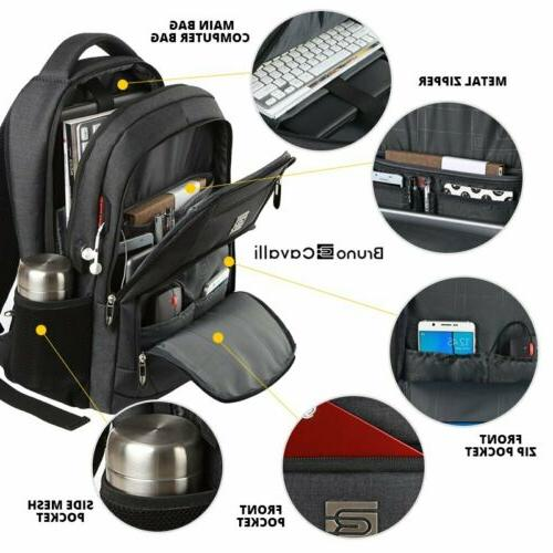 Backpack Large USB Travel Waterproof