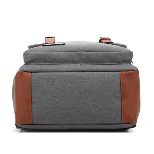 Mens Backpack School Travel Satchel Bag