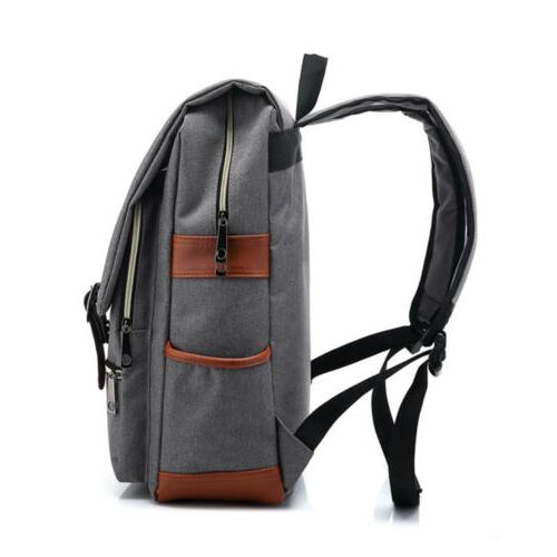 Mens Girls Backpack School Satchel Shoulder Bag