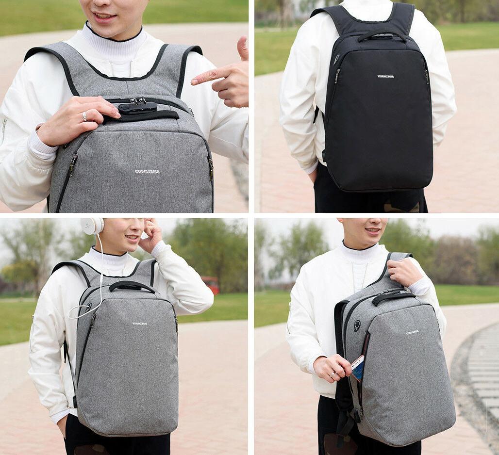 Men Women Backpack Bookbag