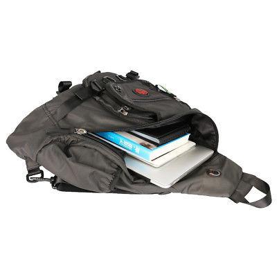 """Men Women Sling Bag Backpack School Travel 15"""""""""""