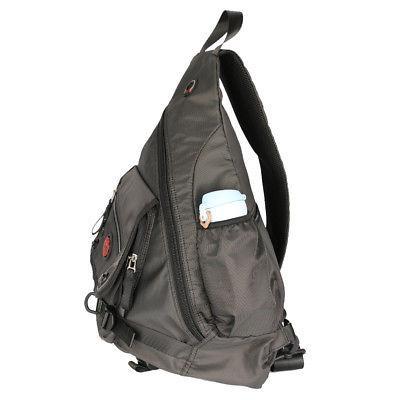 """Men Women Laptop Sling Backpack School 15"""""""""""