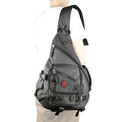 "Men Women Large Laptop Sling Bag Backpack Rucksack School 15"""""