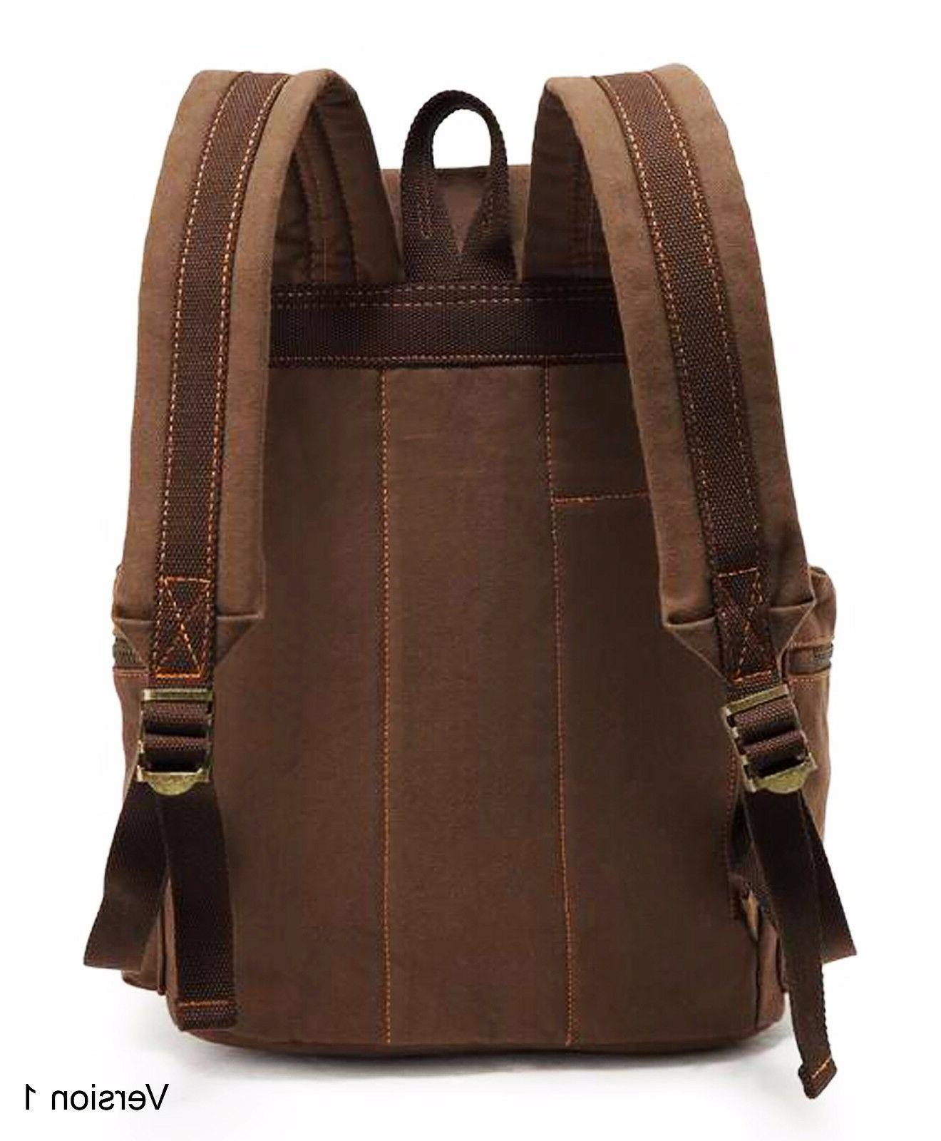 Men Travel Backpack Hiking Book Bag