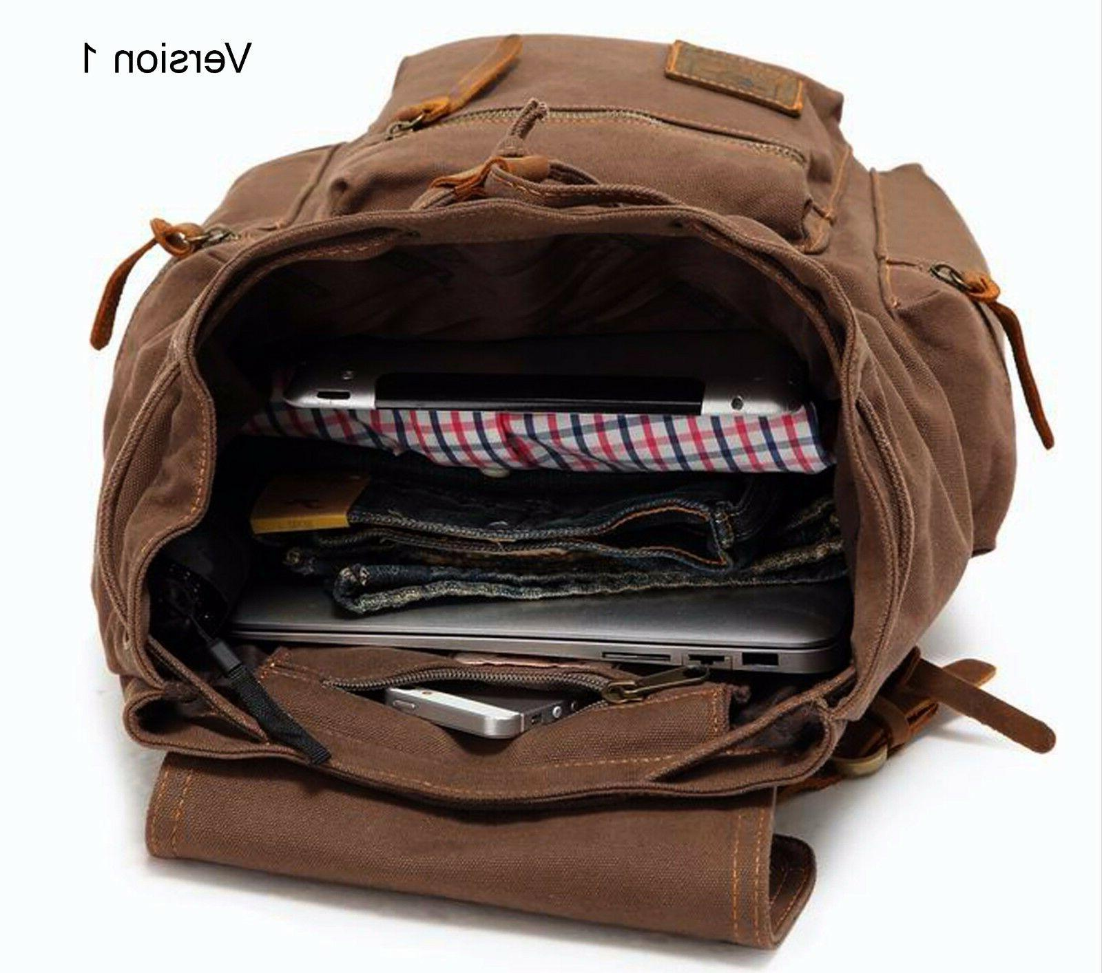 Men Women Travel Backpack Rucksack Camping Hiking School Book Bag