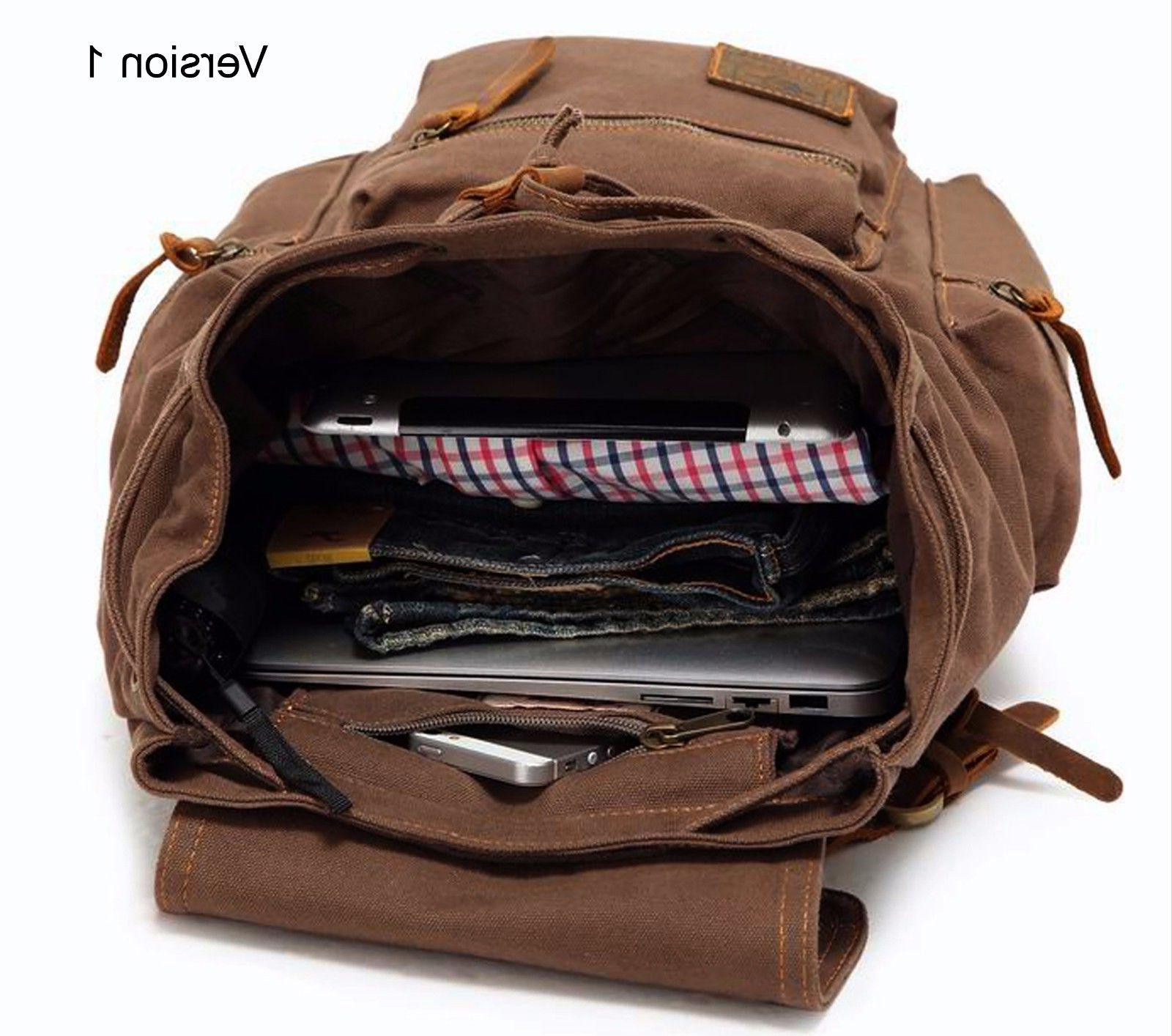 Men Women Travel Backpack Rucksack Camping Hiking School Book Bag