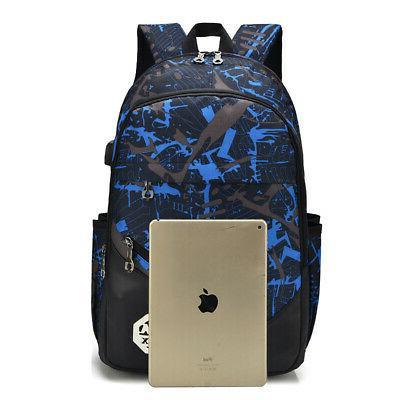 Men Backpack Travel Shoulder School