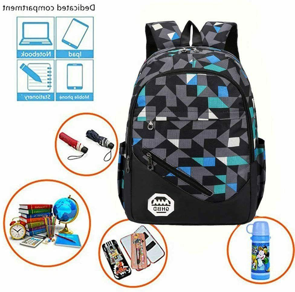 Men Women Backpack Travel School Book Bag