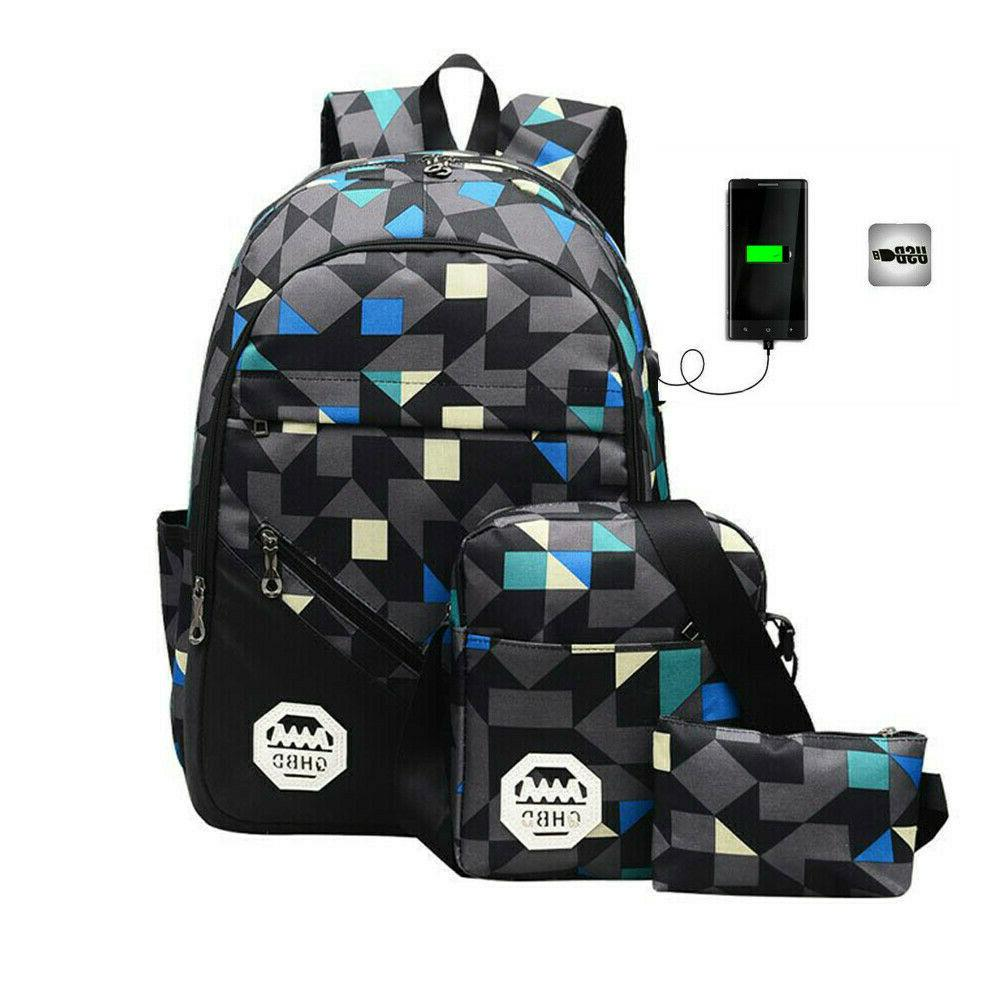 Men Women Backpack Laptop Travel School Book