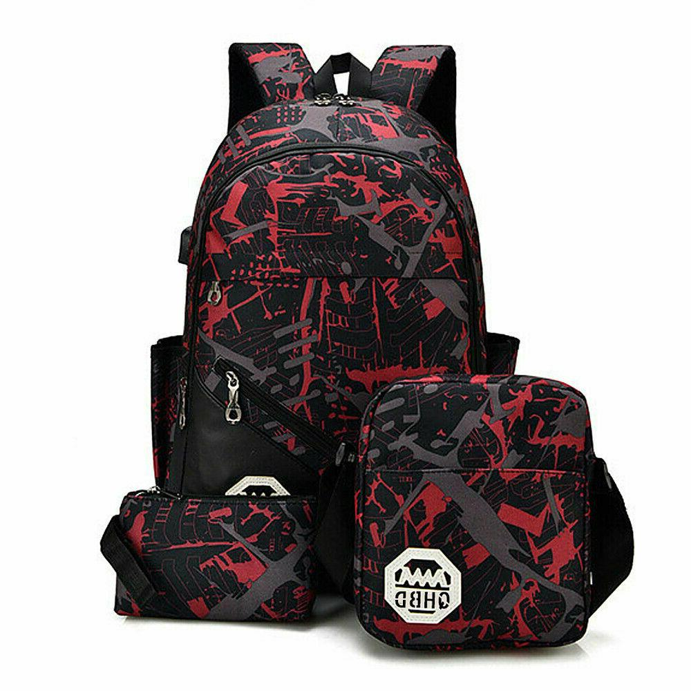 Men Port Backpack School Bag