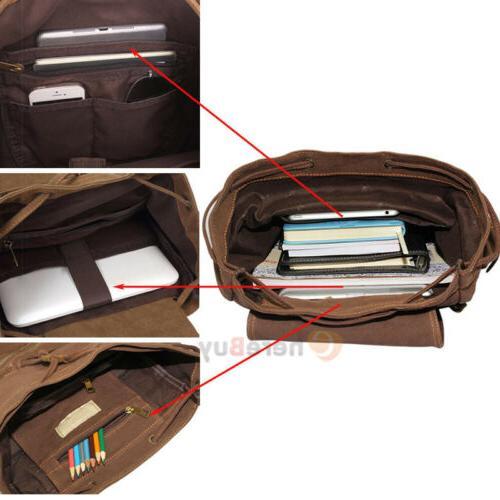 Men Women Travel School Laptop Backpack