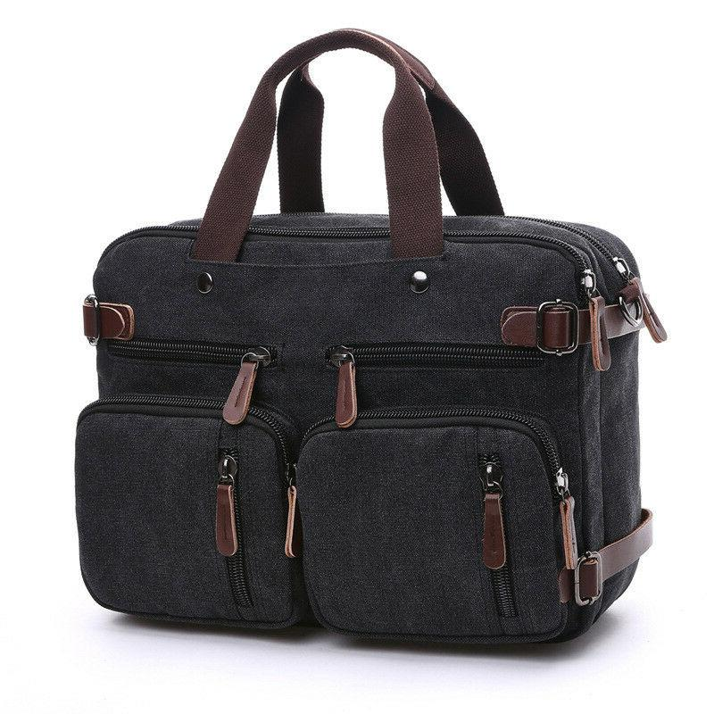 mens briefcase 15 laptop backpack large capacity