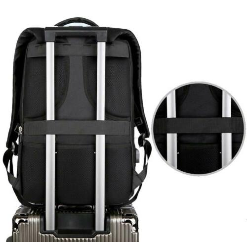 Mens Business Waterproof Travel With USB Port