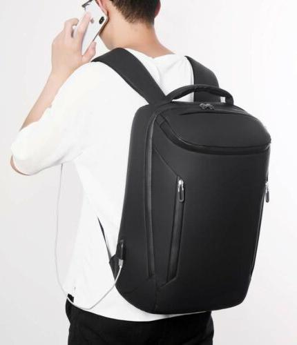 Mens Business Waterproof Travel With USB Charg