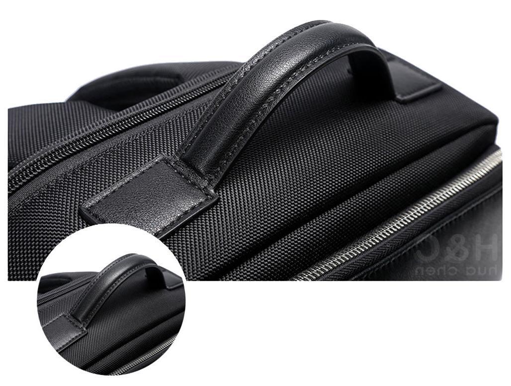 Mens Bravo Briefcase Schoolbag Laptop