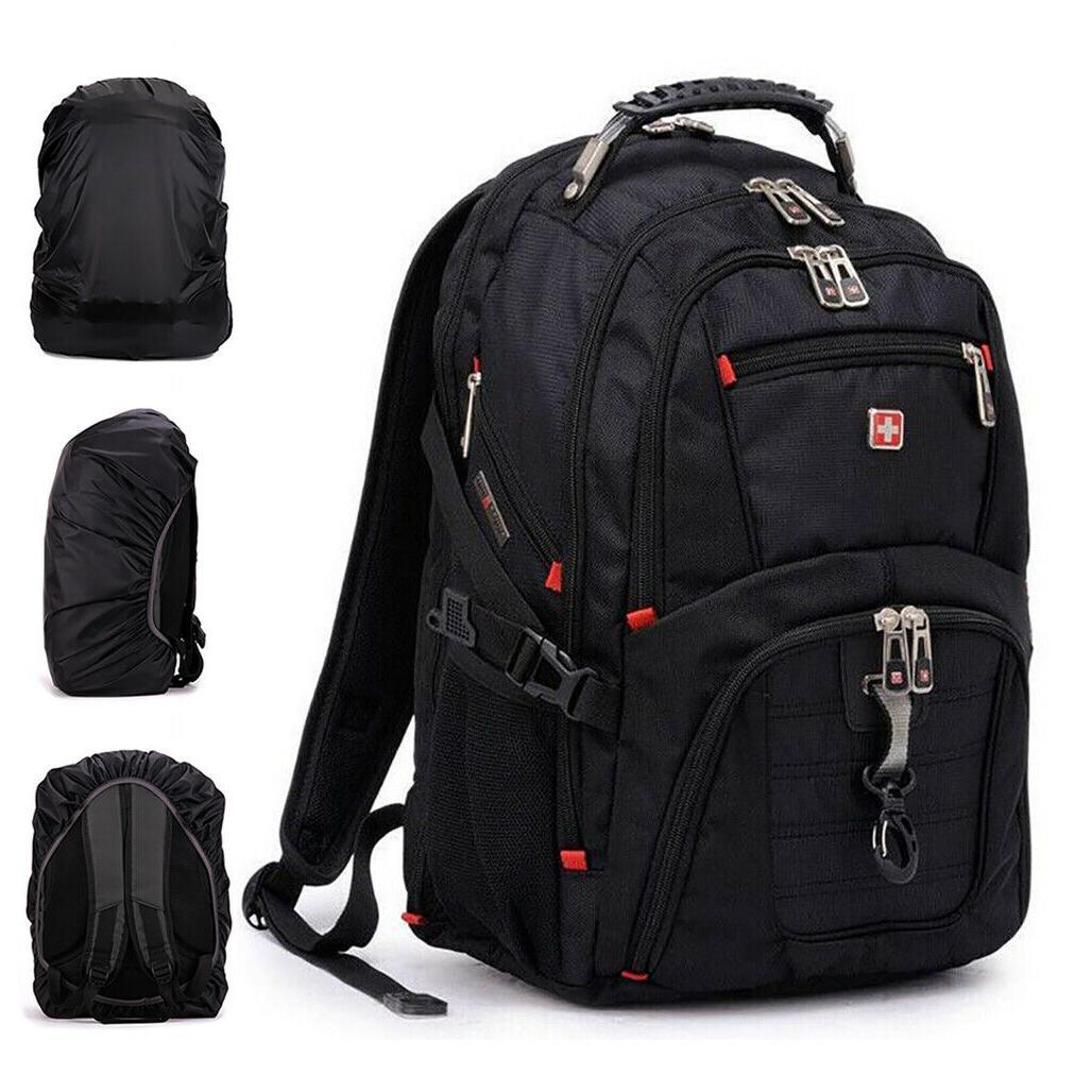 Travel Gear Men Laptop Backpack Rucksack Bag