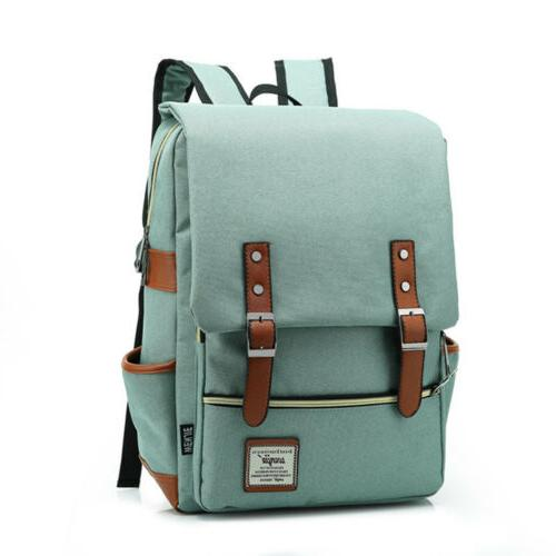 Mens Girls Backpack School Laptop Satchel Shoulder Bag