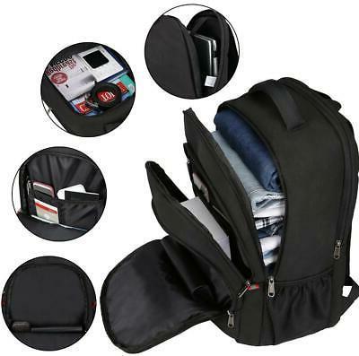 Large Waterproof USB RFID Travel School Bag