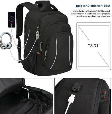 "17"" Extra Large Theft USB Travel School"