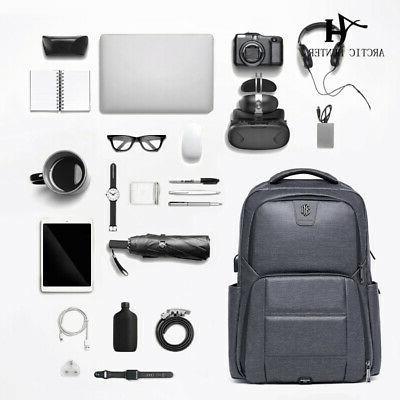 """Men's Notebook Waterproof 17"""" Computer USB Charge"""
