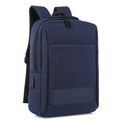 """15.6"""" Laptop USB Business School Shoulder Bag"""