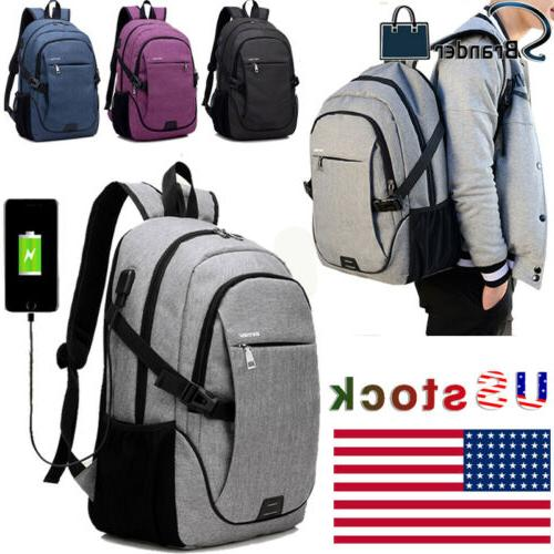 mens laptop backpack with usb charging port