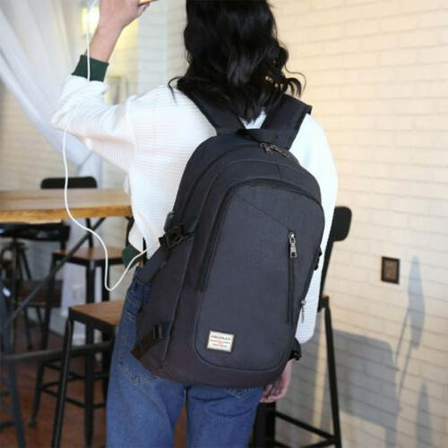 Mens Travel Backpack Notebook School
