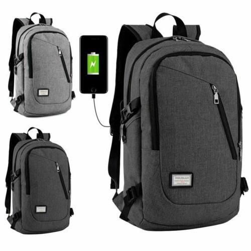mens womens anti theft travel backpack usb