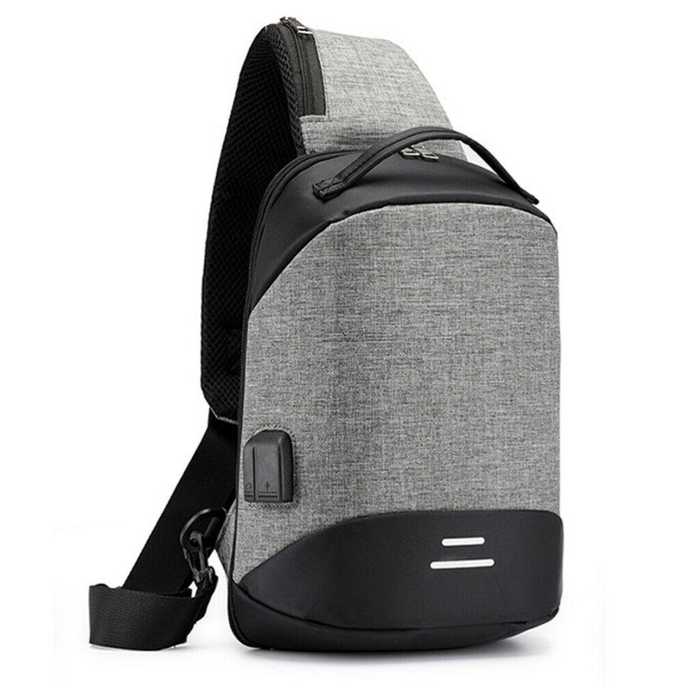 Mens Womens Anti-Theft Backpack Laptop Notebook Travel