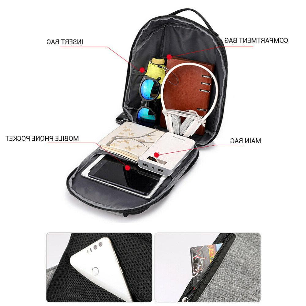 Mens Womens Anti-Theft Backpack Travel