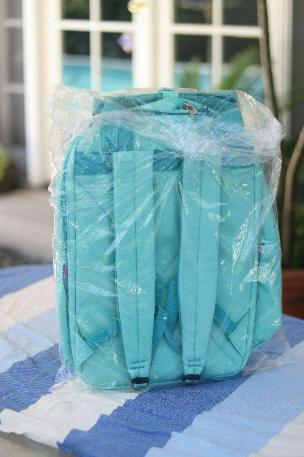 High Backpack NWT Aquamarine Turquoise Laptop TECH