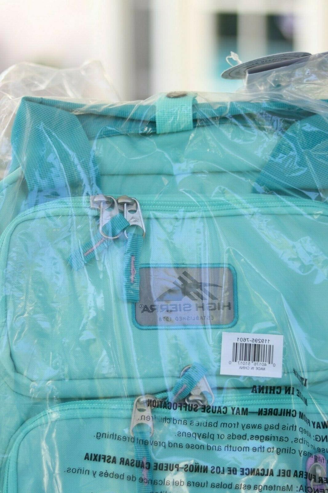 High Backpack NWT Turquoise