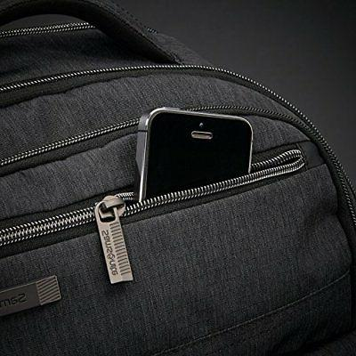 Samsonite Modern Utility Shot Laptop Backpack, Heather, One