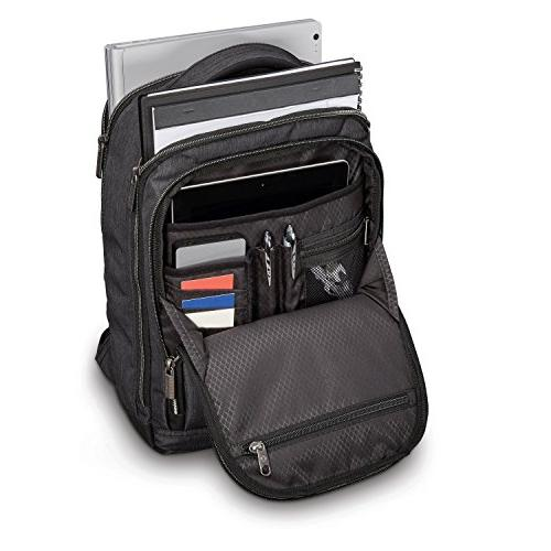 Samsonite Modern Shot Backpack Laptop, Heather, Size