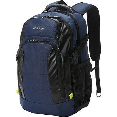 Kenneth Cole Reaction Pack-Wards Computer Business Laptop Backpack