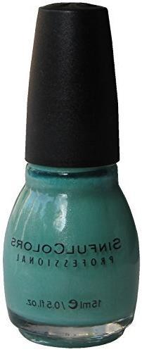 Sinful Colors Nail Polish, Mint Apple 947
