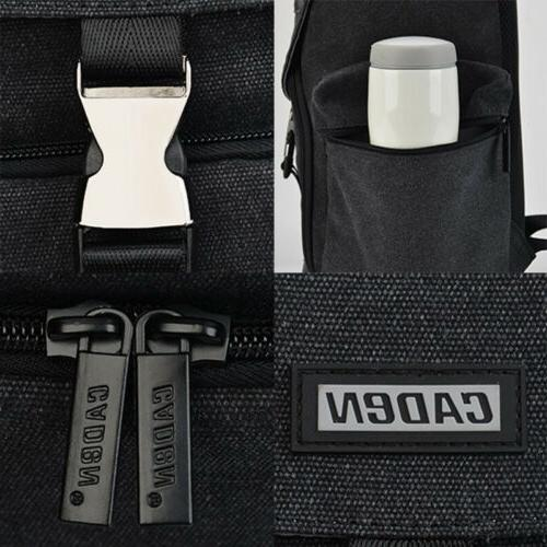New Canvas Bag Canon Nikon Sony Leica Pentax SLR