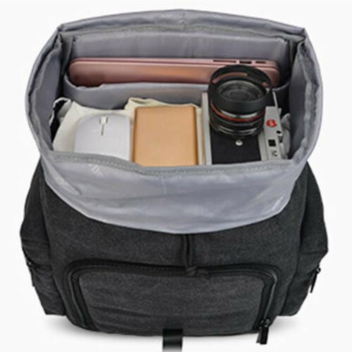 New Black Bag Backpack For Nikon Sony SLR