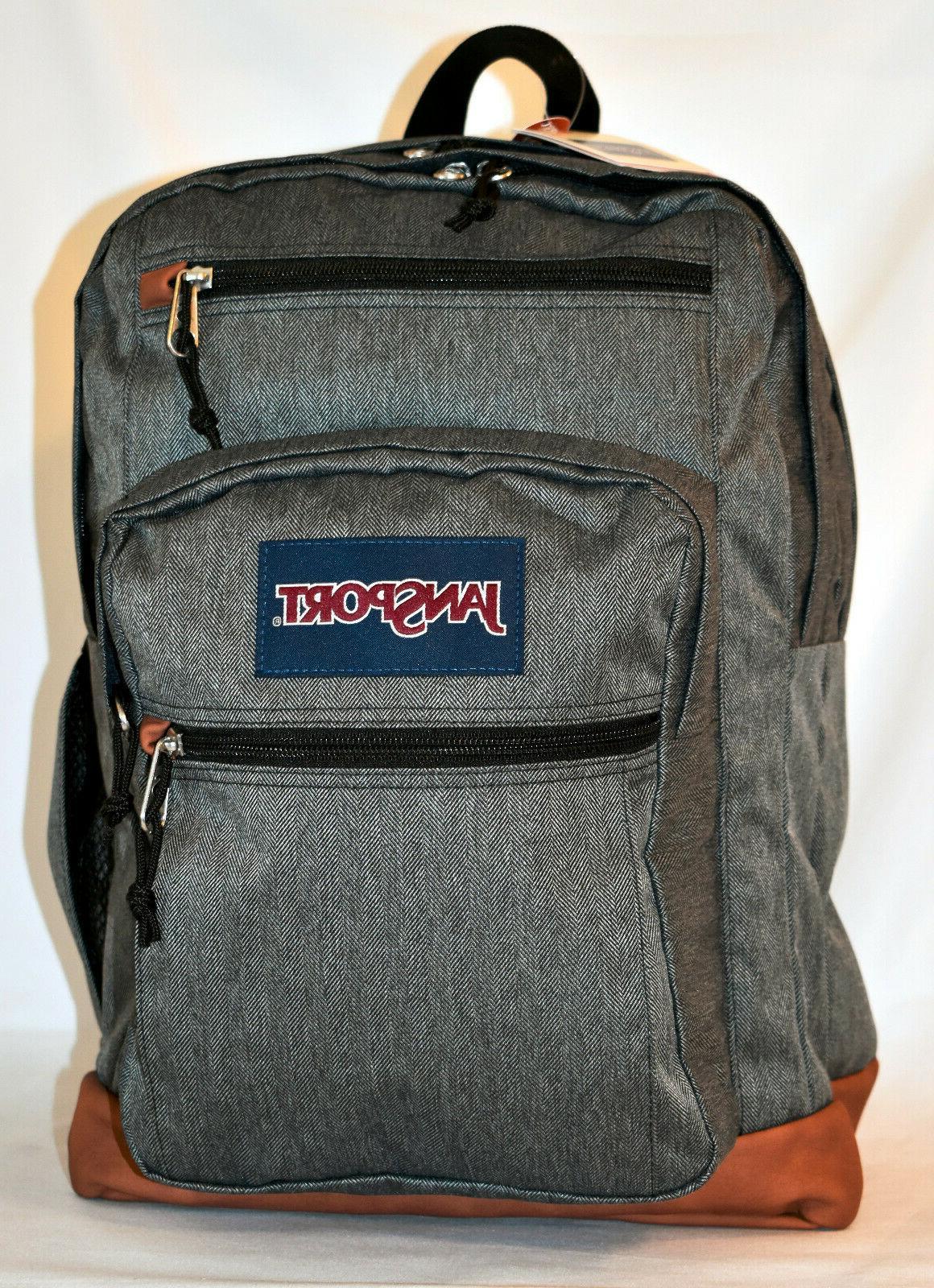 New Laptop Backpack White