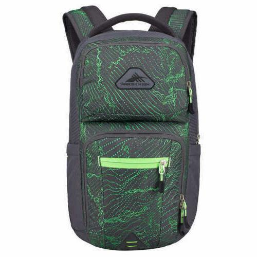 new everyday 22l laptop backpack green