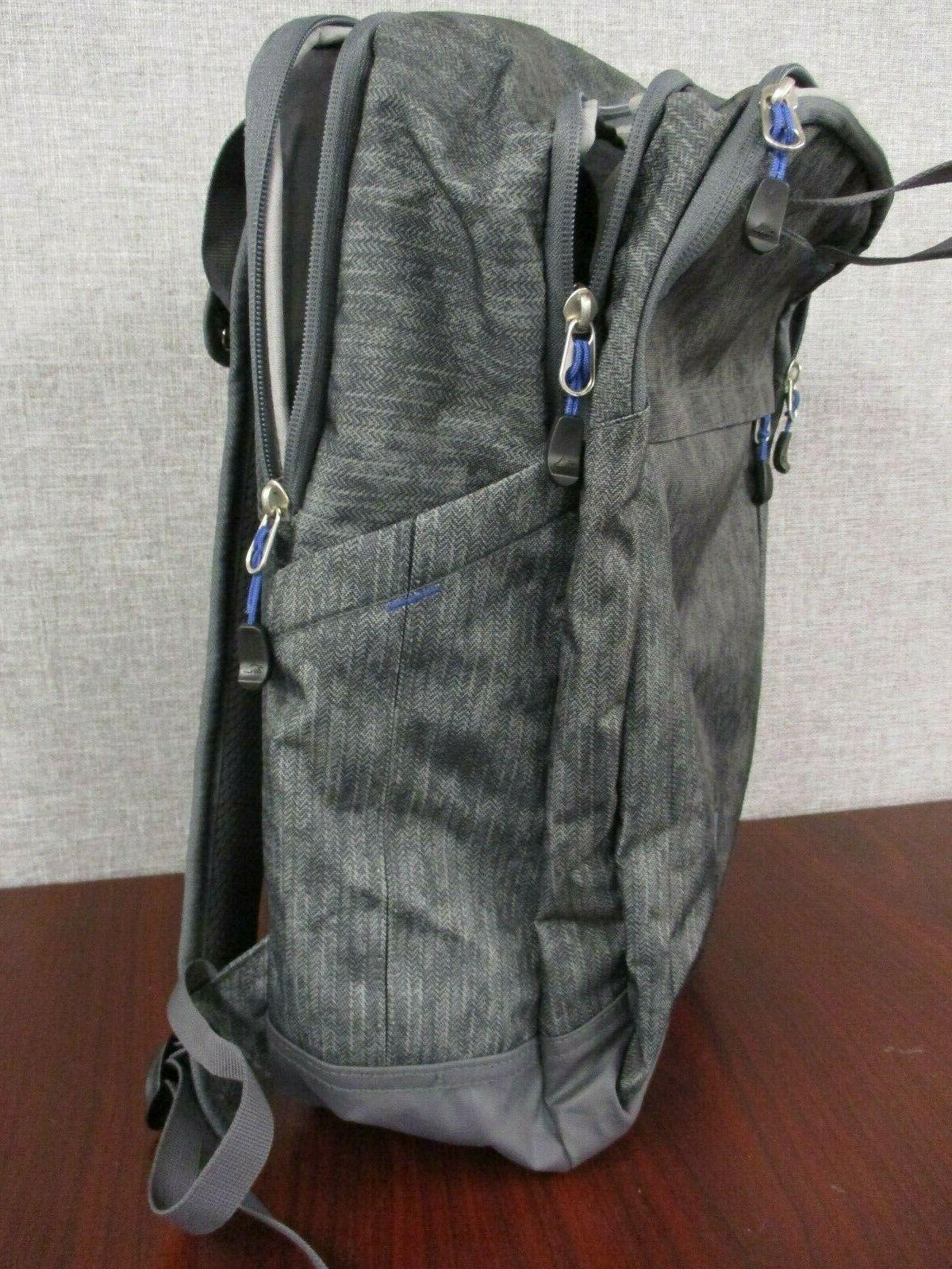 New Everyday Grab Handle BackPack Book Bag Laptop - Gray