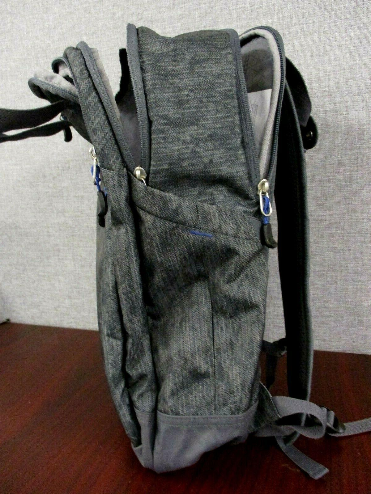 New High Sierra Grab Handle BackPack Book Bag Laptop - Gray