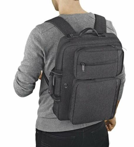 New SOLO Hybrid Laptop Briefcase Backpack Bag