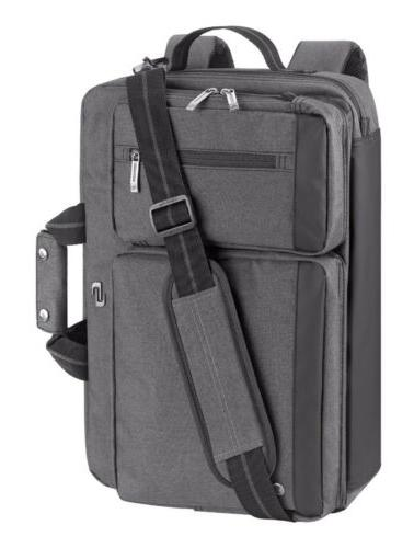 new hybrid convertible laptop briefcase backpack messenger