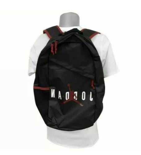 "New NIKE Large 17.5"" Backpack LOGO /Red Storage"